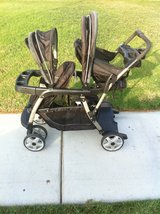 Graco Double Sit and Stand Stroller, Ready2Grow Classic Connect LX >>> Just Reduced the Price in Camp Pendleton, California