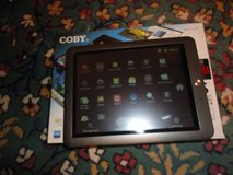 coby 8 inch 4gb tablet in Fort Campbell, Kentucky