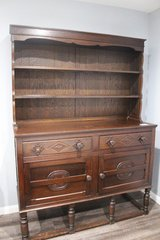 Antique Welsh Cupboard in Spring, Texas