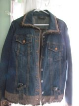 Women's Large Blue Jean Jacket in Orland Park, Illinois