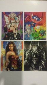 """4 1/4"""" x 5 1/2"""" fridge magnets assorted characters in Bolingbrook, Illinois"""