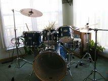 Pearl Vision Drum Set with Zildjian Cymbals in Kewanee, Illinois