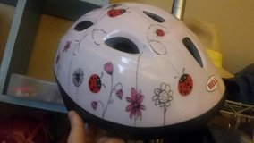 Pink ladybug&flower toddler bike helmet in Fort Campbell, Kentucky