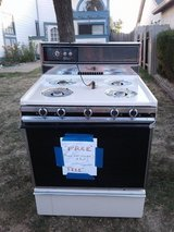 Gas stove .. works in Travis AFB, California