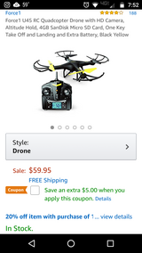 Force1 U45 RC Quadcopter Drone in Fort Campbell, Kentucky