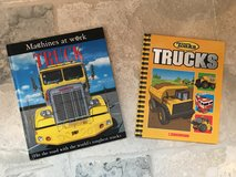 2 Hardcover Picture Books about Trucks in Bolingbrook, Illinois