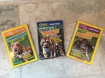 3 National Geographic Kids Chapter Books (7-10 Year Olds) in Bolingbrook, Illinois