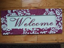 Welcome sign in Chicago, Illinois