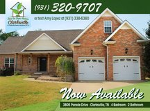 Rent to Own Home Coming Soon--3805 Parade Drive in Fort Campbell, Kentucky