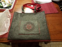 Fanny May Holiday Felt Tote Bag  NEW in Chicago, Illinois