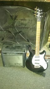 Washburn Maverick Guitar With A Crate Amp in Aurora, Illinois