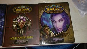 4 World of Warcraft role playing game books in Fort Campbell, Kentucky