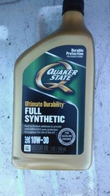Quaker State Ultimate Durability 10W-30 Full Synthetic Motor Oil in Cherry Point, North Carolina