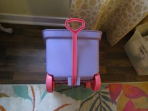 Small Little Plastic Wagon & 4 Other Toys in Orland Park, Illinois