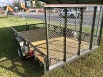 2018 77x12 Pipe Top Utility Trailer in Fort Polk, Louisiana