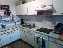 Full Kitchen Inc Stove and Vent, Dishwasher, Refridgerator/Freezer, Sink and Cabinets in Ramstein, Germany