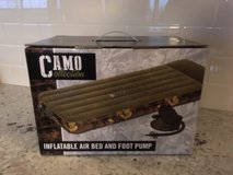 Air Bed -- Camouflage NEW IN BOX! in Orland Park, Illinois
