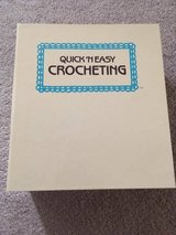 Vintage Crochet Pattern Binder in Oswego, Illinois