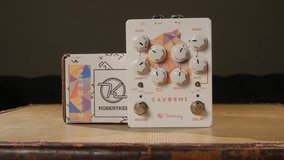 New Keeley Caverns V2 Delay and Reverb Pedal. Box included. in Yucca Valley, California