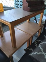 Wooden Coffee table and side Tables in 29 Palms, California
