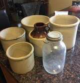 Vintage Antique OLD crocks - various sizes in Lockport, Illinois