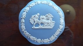 "Wedgewood Trinket Box, ""Chariot & Angel"" design in Fort Irwin, California"