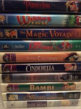 VHS: Disney Movie LOT in Warner Robins, Georgia