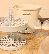munchkin baby bottles and steamer sterilizer in Fort Campbell, Kentucky
