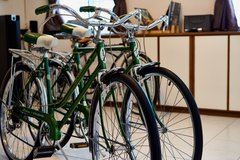 Vintage 1966 Schwinn Collegiate Bicycles (His & Her's Original Pair) in Okinawa, Japan