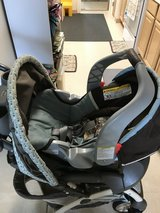 Stroller and  baby car seat . in Okinawa, Japan