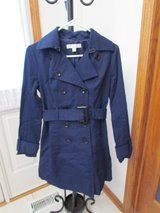 Blue Trench Coat in Palatine, Illinois