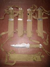 Knife $7 for 1 or $25 for all 5 in Fort Benning, Georgia