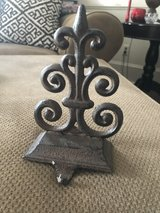 Christmas stocking holder solid metal in Kingwood, Texas