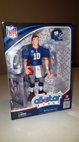 NFL NY Giants Eli Manning Figure in Fort Bliss, Texas