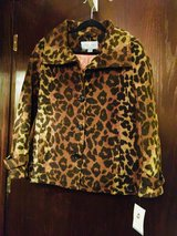 Cheetah Print Jacket New Woman's  - Med in Quad Cities, Iowa