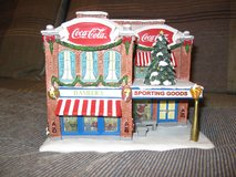 Hawthorne Village Cola Cola Dasher's Sporting Goods Shop in Elgin, Illinois