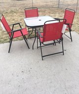 patio table and Chairs in Fort Riley, Kansas
