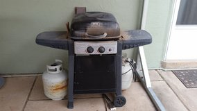 Outdoor Gas Grill with 2 Propane Tanks in Alamogordo, New Mexico