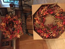 Fall Wreaths in Camp Pendleton, California