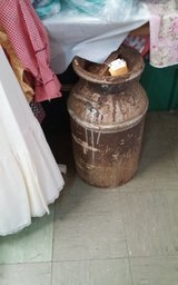 Antique Milk Can with Lid in Fort Polk, Louisiana