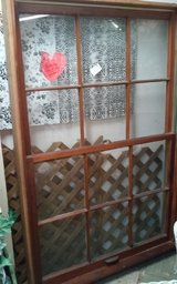 Vintage Double Window Complete  in Solid Wood Frame in Fort Polk, Louisiana