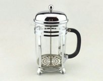 vintage coffee,tea  maker silver, an glass in Yucca Valley, California