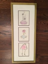 Framed Wall Art for Girl's Room - Paris Theme in Plainfield, Illinois