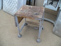 $$$   Cool Old Metal Table   $$$ in Yucca Valley, California
