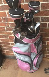 ladies light  easy golf club set with covers and bag in Lawton, Oklahoma