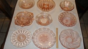Collectable Pink Dishes lot 1A in Fort Hood, Texas