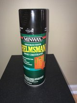 Minwax Helmsman Indoor/Outdoor Spar Urethane Clear Satin Spray 11.5 oz Full can!! in Oswego, Illinois