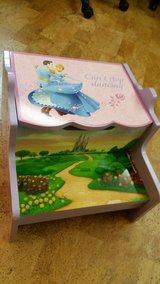 Disney Princess Storage Step stool. in Tinley Park, Illinois