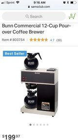 Bunn Commercial Coffee Maker in Fort Knox, Kentucky