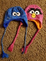 Cookie Monster/Animal knit hats in Chicago, Illinois